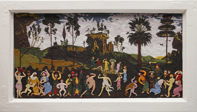 , 'Zweisam, Dreisam, Gemeinsam,' 2014, Allouche Gallery