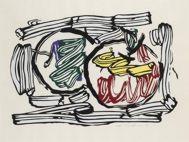 Roy Lichtenstein, 'Two Apples (C. 198)', 1983, Sotheby's