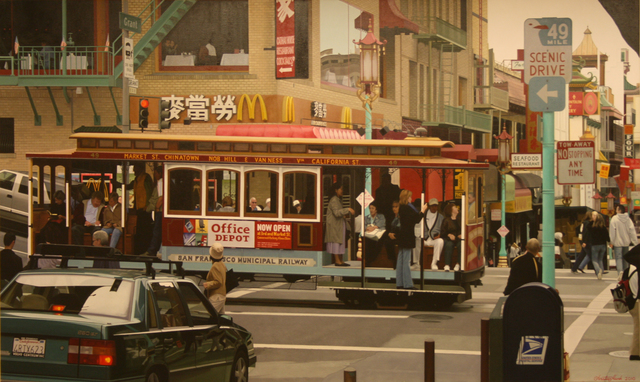 , 'Chinatown Cable Car, San Francisco,' , Plus One Gallery