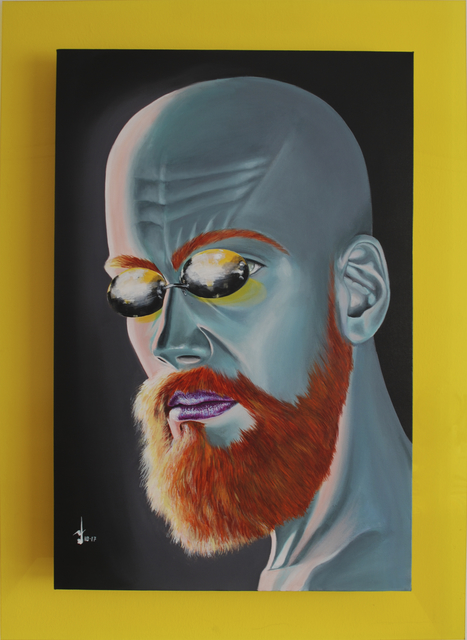 , 'Bald Beautiful,' 2017, Addicted Art Gallery