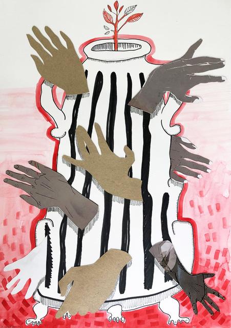 , ' Hand Urn,' 2020, 99 Loop Gallery