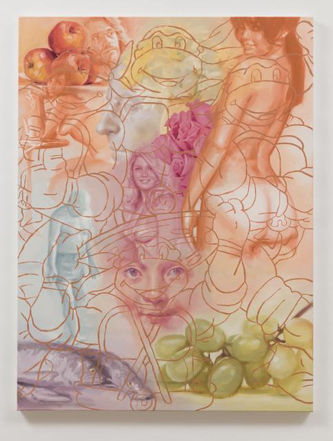 , 'Michelangelo with Grapes,' 2017, Anat Ebgi