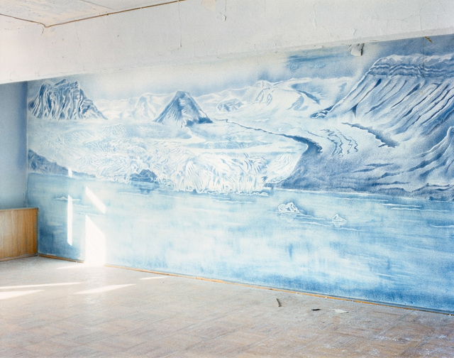 ", 'Room with Drawing 1, The Culture House, 78°39'20.9""N 16°18'24.1""E, Pyramiden, Svalbard, Norway, Summer, 22 August, 2016,' 2016, Benrubi Gallery"