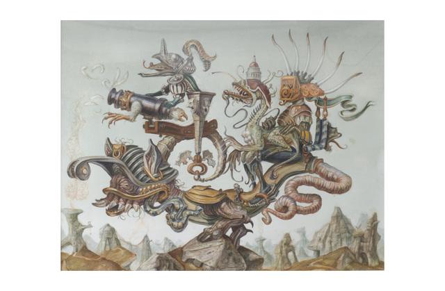 , 'Guerra,' 2003, Hieronymus