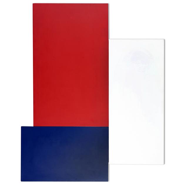 Gaudin Bolivar, 'Madi rouge - blanc - bleu', 1990, Martini Studio d'Arte