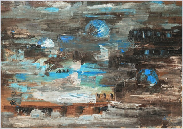 , 'Blue dome of the East ,' 2011, MA Gallery