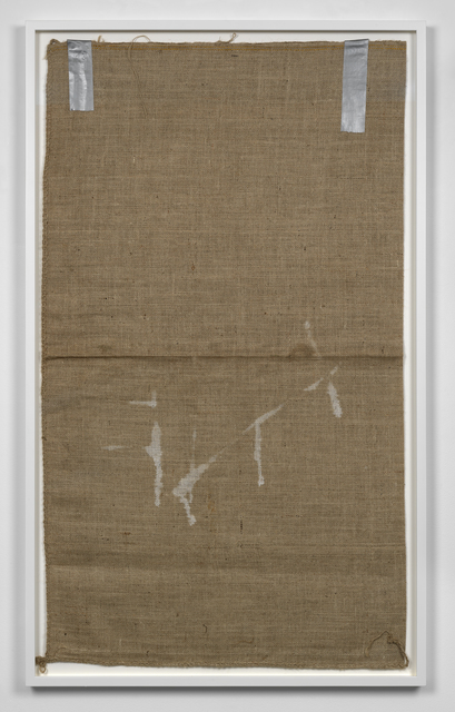 , 'Untitled (Sack #4),' 2013, Simon Lee Gallery