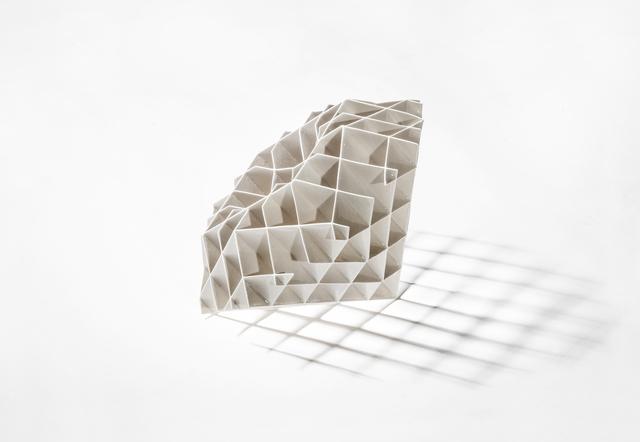 , 'White Diamond,' 2016, Lacoste Gallery