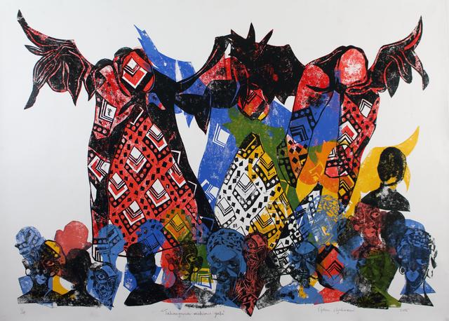 , 'Takanganwa Vadzimu,' 2015, KooVha Gallery