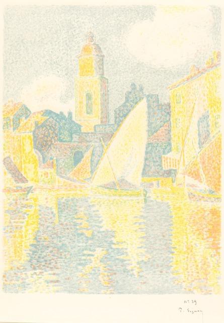 Paul Signac, 'St. Tropez: The Port (Saint-Tropez: Le port)', 1897/1898, National Gallery of Art, Washington, D.C.