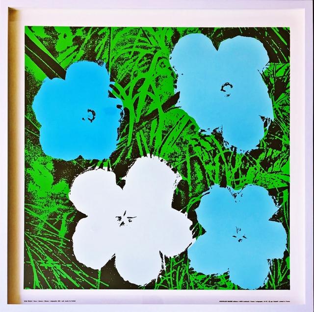 Andy Warhol, 'Flowers (Blue) - Framed', 1970, Alpha 137 Gallery