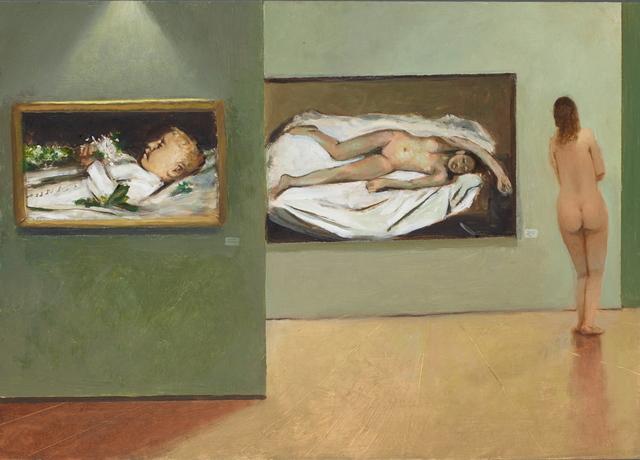 , 'Du lieber, lieber Ruedli,' 2018, LEVY Galerie