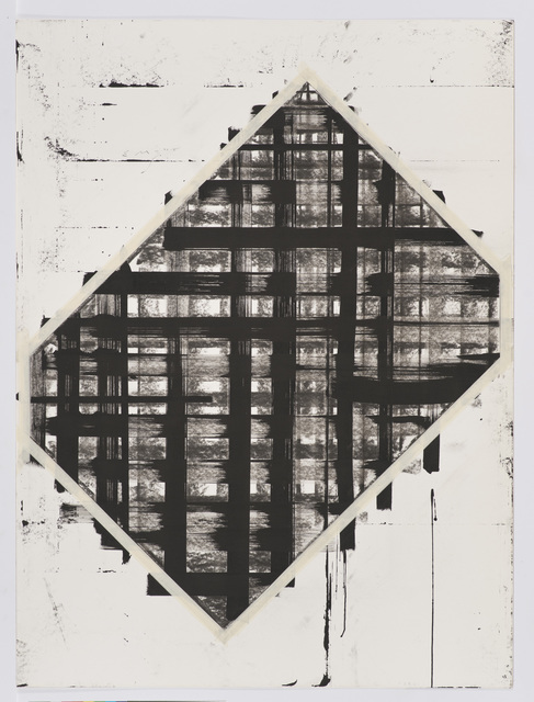 , 'Cubist Drawing #11,' 1977-1978, Los Angeles County Museum of Art