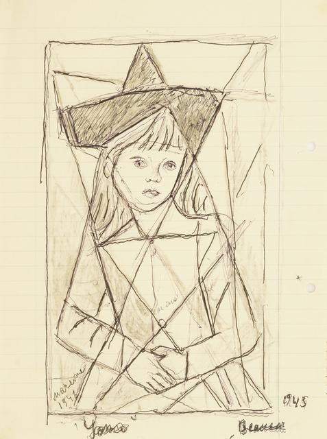 Marie Vorobieff Marevna, 'Study for a portrait of a girl, three quarter length', 1946, Roseberys