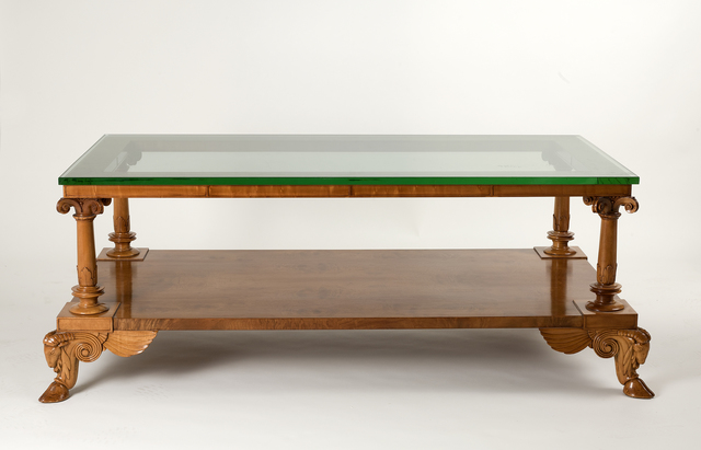 , 'Fine and rare coffee table,' ca. 1928, Maison Gerard