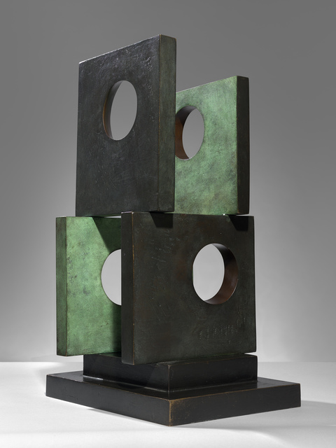 , 'Four Square (Four Circles),' 1966, Osborne Samuel