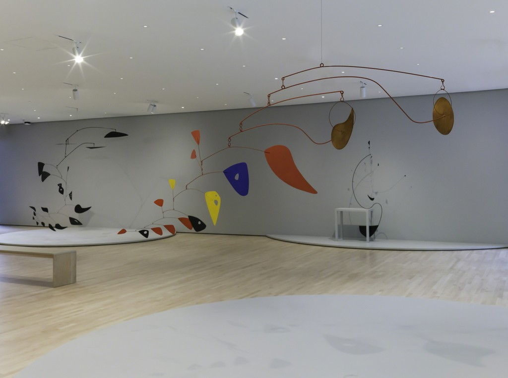 "Installation view, ""Alexander Calder: Motion Lab,"" SFMOMA, San Francisco, CA, 2016. Photo: Katherine Du Tiel"