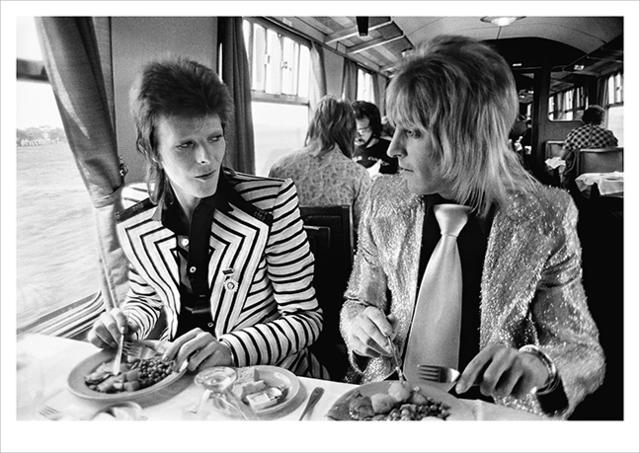 , 'Bowie, Ronson, Lunch on Train to Aberdeen,' , ArtStar