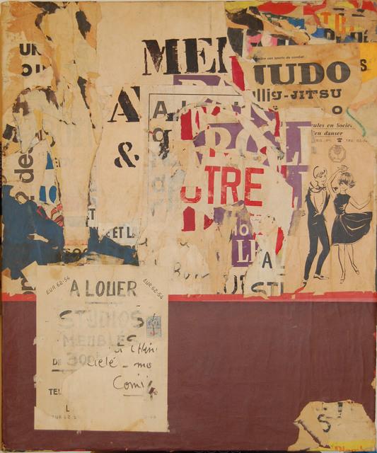 , 'Rue de Richelieu,' 1969, Partners & Mucciaccia