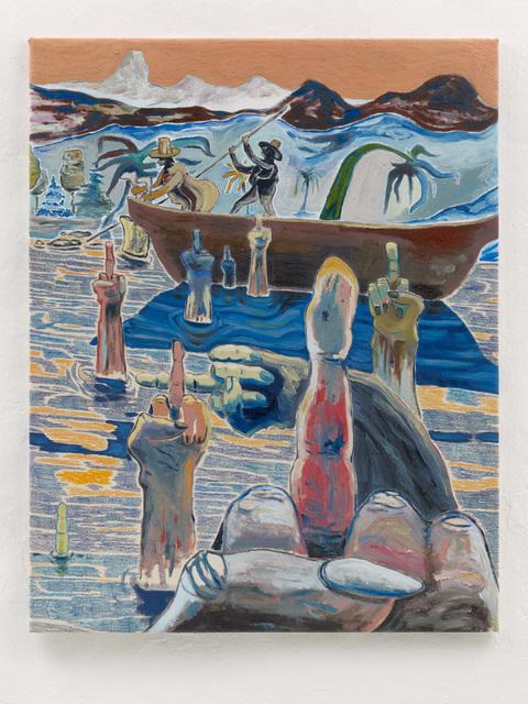 , 'Old Ladies saying Hi,' 2018, Setareh Gallery