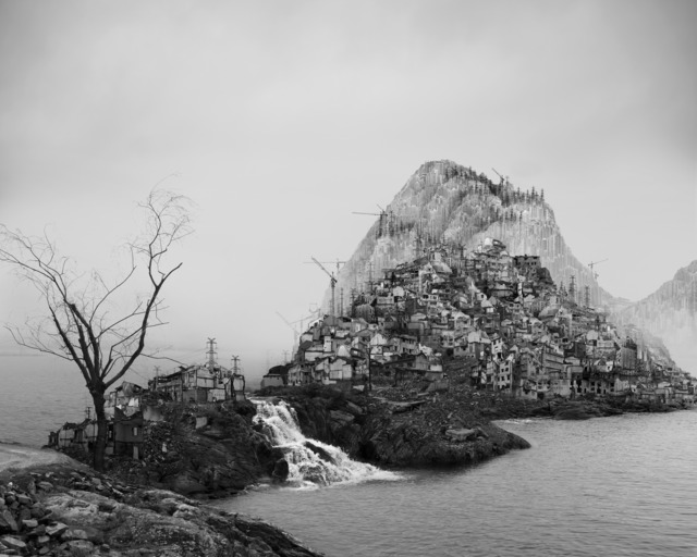 , '太古蜃市 - 急流 Time Immemorial - Flooding,' 2016, Matthew Liu Fine Arts