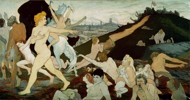 Charles Maurin, 'The Dawn of Labor (L'aurore du travail)', 1891, Guggenheim Museum