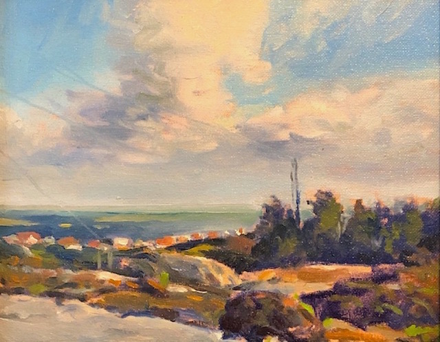 Richard Rosenblatt, 'Off the West Coast of Sweden', 2019, Painting, Oil, The Galleries at Salmagundi