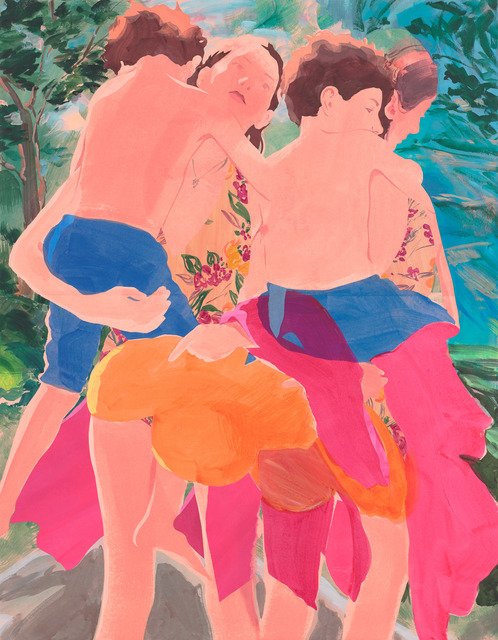 , 'The Lift Pair,' 2015, De Buck Gallery