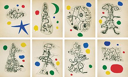 Joan Miró, 'L'Antitête (Tristan Tzara)', 1949, Galerie Boisseree