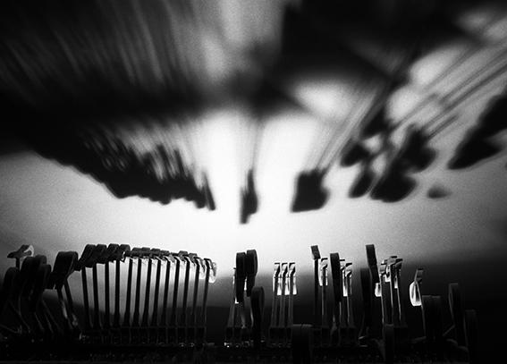 , 'Piano hammers 1 ,' 1993, Bernheimer Fine Art