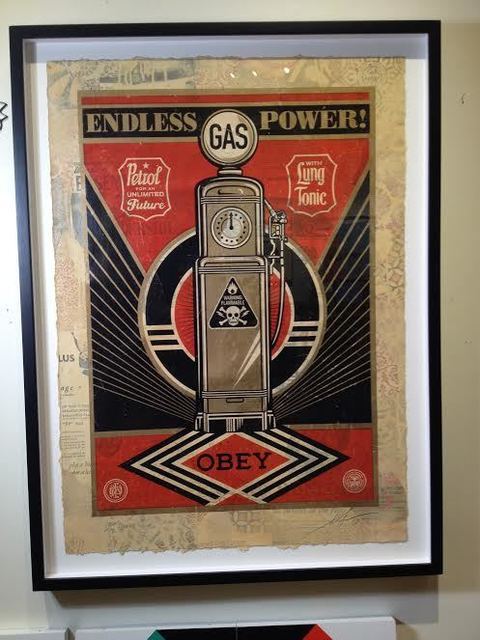 Shepard Fairey, 'Endless Power', 2014, Vertu Fine Art