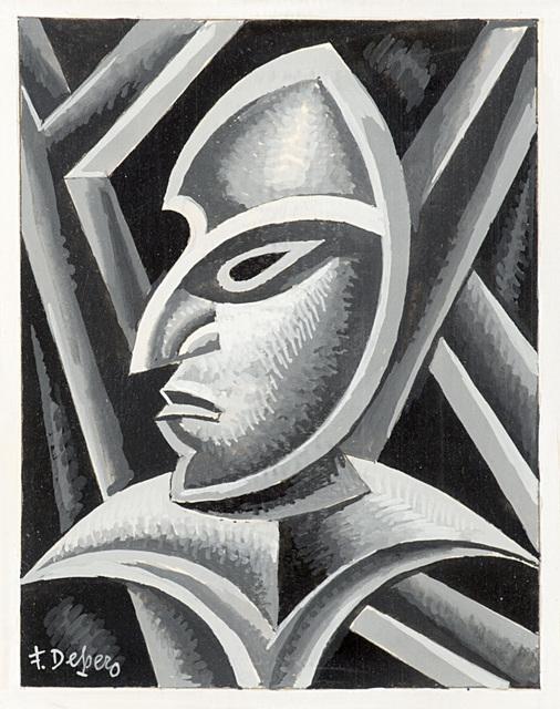 Fortunato Depero, 'Automaschera', 1952, Il Ponte