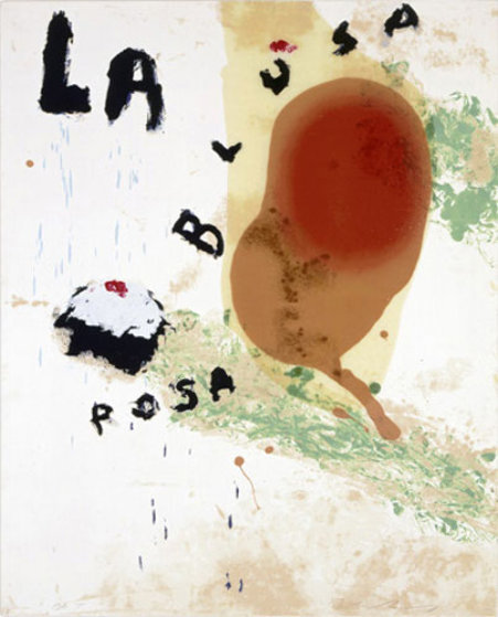 Julian Schnabel, 'La Blusa Rosa II ', 1995, Kings Wood Art