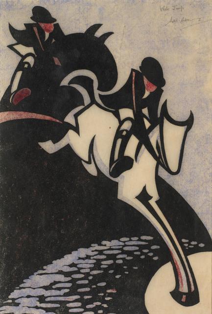 , 'Water Jump,' 1931, Osborne Samuel