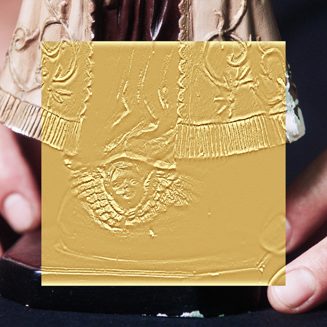 , 'The Gold Room (Stucco Statuette A),' 2016, Wasserman Projects