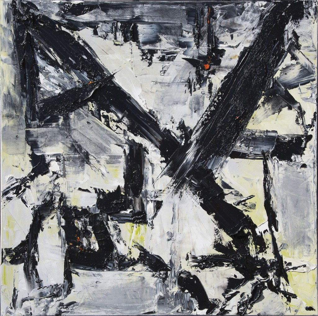 "Lea Fisher | ""Homage to Franz Kline"" 