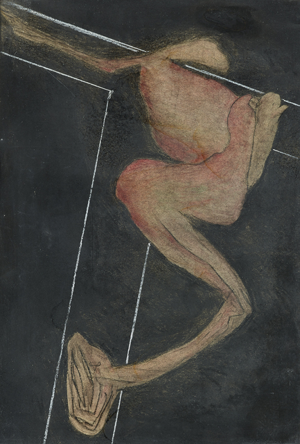 , 'Kreuzigung 2 (Bezug Kubakrise),' 1962, 21er Haus