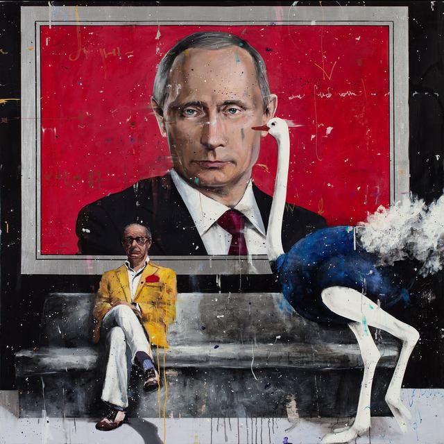 Angelo Accardi, 'La Grande Bellezza 20', 2018, Painting, Canvas, Acrylic, Mixed Technique, Art Gallery Tolstoy