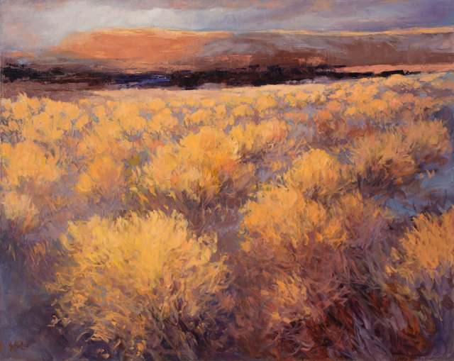 , 'Abiquiu Sage,' 2017, Owen Contemporary