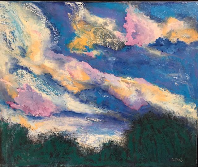 , 'Pastel Sky,' 2017, Gallery 901