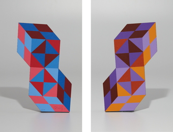 Victor Vasarely, 'Stèle,' 1988, Phillips: Evening and Day Editions (October 2016)