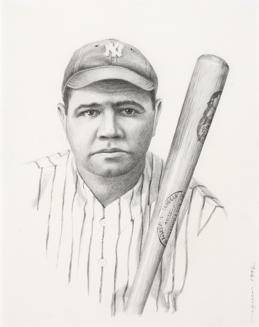 , 'Portrait of Babe Ruth,' , Dowling Walsh