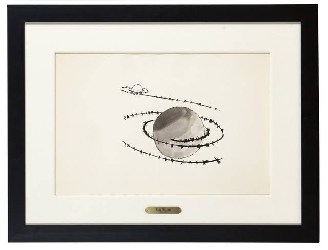 Andy Warhol, 'Untitled (Saturn)', circa 1954, Forum Auctions
