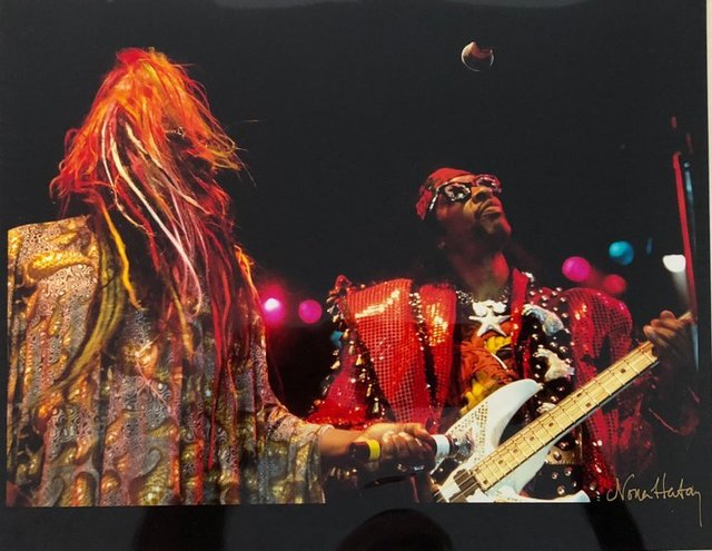 Nona Hatay, 'Color Rock & Roll Photo Hand Signed Woodstock Music Festival African American ', 20th Century, Lions Gallery