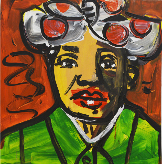 , 'Mao Zedong as Aunt Jemima,' 2018, Ethan Cohen New York