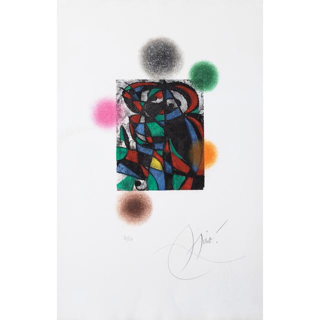 Joan Miró, 'Arlequin crépusculaire', 1975, PIASA