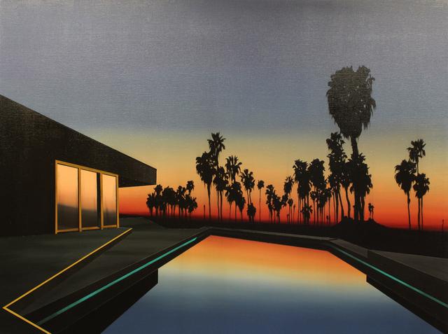 , 'Black Palms,' 2018, Rebecca Hossack Art Gallery