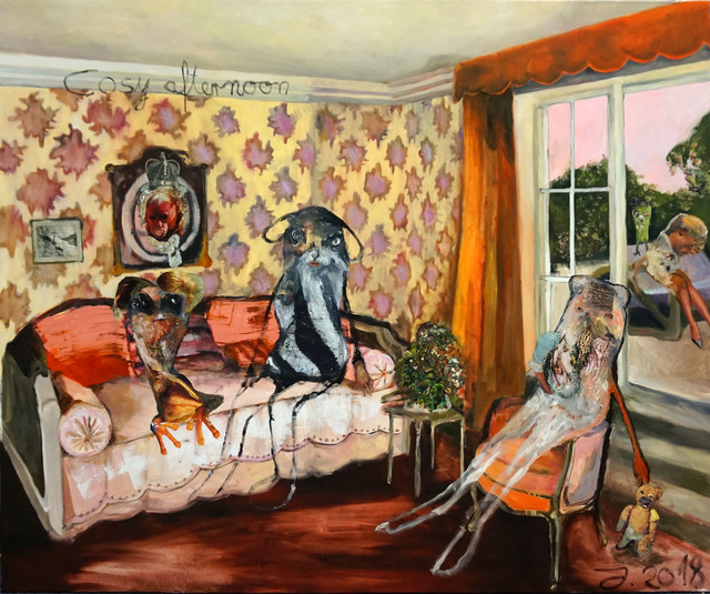 , 'Cosy Afternoon,' 2018, Knight Webb Gallery