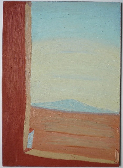 , 'Windowscape with blue Mountain / Fensterlandschaft mit blauem Berg,' 2008, Alan Kluckow Fine Art