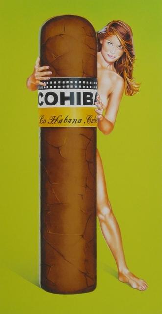 , 'Hav-A-Havana #2, Cohiba,' 1998, Galerie Ernst Hilger